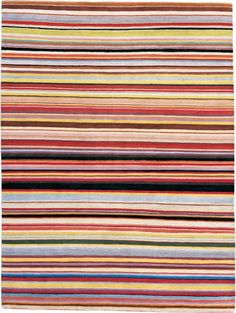 This rug has Paul Smith written all over it! Entirely handmade in Kathmandu in Tibetan wool.  A 2.3m x 1.5m rug costs £2,628