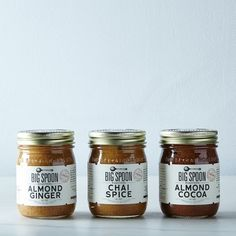 The PJs All Day Morning Breakfast Bundle, including Holiday Nut Butters. Click to read the entire & Be Well Holiday Gift Guide: For Those With An Artisanal Palate. @food52