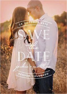 Simply Events, LLC: 12 Fun & Creative Save the Dates