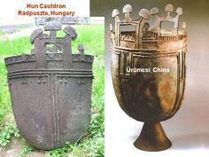 Hun Cauldrons from Hungary and China