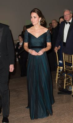 Kate Middleton at St. Andrew's 600th Anniversary Dinner in New York City 2014 - Iconic Dress