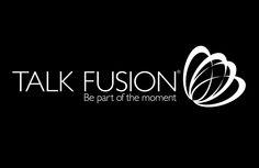 Talk Fusion Logo Black