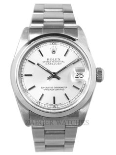 ZAEGER - Rolex Ladies Datejust Stainless Steel Watch Silver dial 68240, (http://www.zaeger.com.au/all-watches/rolex-ladies-datejust-stainless-steel-watch-silver-dial-68240/)