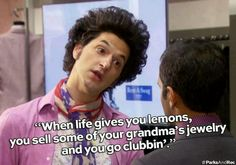 """18 Reasons Jean-Ralphio Is The Best Character On """"Parks And Recreation"""" Parks And Recreation, Parks And Rec Memes, Parks And Recs, John Ralphio, Parks Department, Plus Tv, Tv Quotes, Song Quotes, Movie Quotes"""