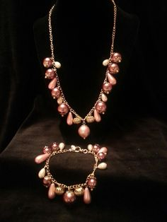 Necklace and Bracelet Set Etsy jewelsbyyvonne
