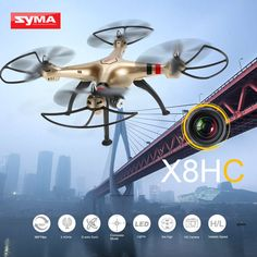 High Quality Syma X8HC 2.0MP HD Camera RC Quadcopter with Altitude Hold and Headless Mode from cafago.com