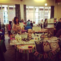 Well we had a great time yesterday at Made and Sold. Thank you for all the feedback and for being so bloomin' nice!