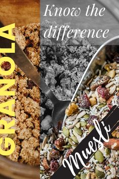 Muesli is better than granola. Hands down. Whether you are snacking on it or eating it for breakfast. Granola may be had straight from the bag but it is processed and full of unhealthy SUGARs. Compare this with raw and unprocessed muesli that is all-natural. Here in this week's blog post we discuss 3 big reasons why muesli is better than granola. And what are the not-so-obvious differences. Plus, we take a sneak peek at all the good stuff inside Nuts & Stuff muesli. Are you ready?! Granola Brands, Pomegranate Sauce, Muesli Recipe, Berry Compote, Shredded Coconut, Fresh Herbs, Healthy Choices, Good Food, Hands