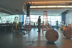 Renovations happening now at the Pottruck Fitness Center