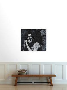 A oil painting study of Bob Marley. By Aiden Taillard Bob Marley, Design Art, Singing, Illustration, Illustrations, Character Illustration
