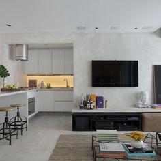 Apartamento minimalista repleto de boas ideias