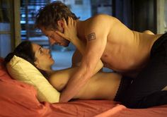 Kris Holden-Ried & Anna Silk My favoritie scene! Is it creepy that I've watched it hundreds of times? Yeah, probably.