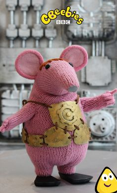 Voiced by Monty Python star Michael Palin - here's an exclusive peek at the upcoming  CBeebies series - The Clangers!