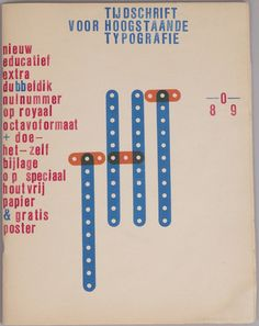 Karel Martens Journal of High-Principled Typography , 1989 Letterpress magazine on newsprint, saddle-stitched, 40 pages (self-cover) 9 ⅞ x 12 ¾ in. (closed) 250 x 325 mm (closed)