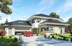 Projekt domu Rezydencja z widokiem 523,34 m2 - koszt budowy - EXTRADOM