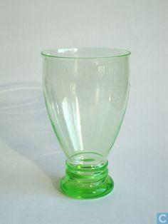 Glas / kristal - Leerdam - Winterbeker 1923