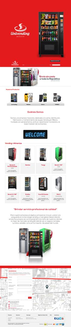 Univending powered by Telaio.