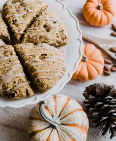 Feeling tempted by all the warm and comforting fall desserts this month while trying to lose weight and make progress with your healthy lifestyle habits? Eat your sweets & treats, guilt-free without the crappy side effects. This Healthy Fall Desserts Reci Pumpkin Scones, Pumpkin Bars, Best Pumpkin, Pumpkin Bread, Pumpkin Spice, Fall Dessert Recipes, Fall Desserts, Gluten Free Pumpkin, Pumpkin Recipes