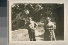 Tommasimo Meadows and his sister Onisemo Meadows - Ohlone – 1933