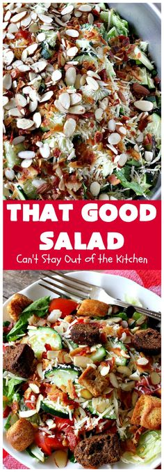 Dieser gute Salat - Main Dishes for Every Occasion - Meat Salad, Salad Bar, Soup And Salad, Quinoa Salad, Main Dish Salads, Main Dishes, Cooking Recipes, Healthy Recipes, Meal Recipes