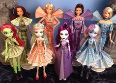 Elaine druckbare Puppe Kleidung für Barbie, Monster High, und vieles mehr