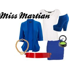 How to dress like Miss Martian from Young Justice Miss Martian, The Martian, Super Hero Outfits, Cool Outfits, Character Inspired Outfits, Hero Girl, Casual Cosplay, Young Justice, Kid Styles