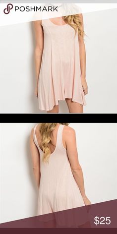 """COMING SOON!!! Blush Romper Beautiful sleeveless blush romper. Can be worn casually or dressed up for a night out. Scooped neckline and relaxed for. New. 95% rayon, 5% spandex.  Made in the USA. Large fits L: 32"""", B: 34"""", W: 34"""". Get 10% off when you bundle two or more items from my closet. Shorts"""