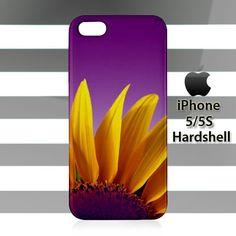 Sunflowers Purple iPhone 5 5s Case Cover Hardshell