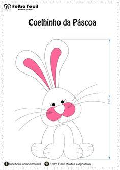 artesanato em feltro, bunny, coelhinho, coelhinho feltro, coelho, coelho molde, craft felt, easter, felt, felt easter, fieltro conejo, handmade felt, molde feltro, páscoa molde
