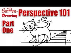 One Point Perspective - Perspective 101 part 1 with Shoo Rayner - YouTube