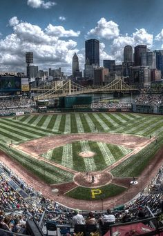 PNC Park, Pittsburgh, PA. Home of the Pittsburgh Pirates. About l hour from Youngstown.