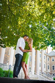 penn state engement photos | Penn State Summer Engagement Session