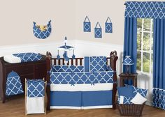 Trellis 9 Piece Crib Bedding Set
