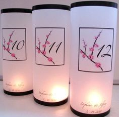 Cherry Blossom Lumniaries