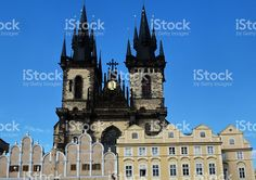 Prague, church of our lady before Tyn royalty-free stock photo