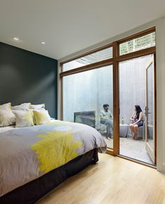 Modern Bedroom Photos Small Bedroom Design, Pictures, Remodel, Decor and Ideas -. Modern Bedroom P Small Bedroom Designs, Modern Bedroom Design, Basement Lighting, Basement Entrance, Interior Architecture, Interior Design, Enclosed Patio, Bedroom Photos, Basement Remodeling