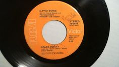 """DAVID BOWIE The Man Who Sold The World / Space Oddity (Rock 45 Vinyl 7"""") RCA  #BritishInvasion"""