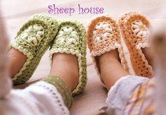 Zapatillas - patrones de ganchillo para bebé