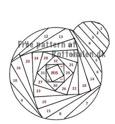 Ladybug or Christmas Ornament Cat Quilt Patterns, Paper Piecing Patterns, Bead Loom Patterns, Card Patterns, Iris Folding Templates, Iris Paper Folding, Iris Folding Pattern, Paper Cards, Folded Cards