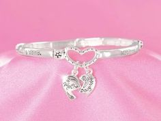 Mothers and Daughters Bracelet!  js. Starting at $1 on Tophatter.com!  LOVE THIS!