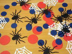 50 Spiderman Confetti Spiderman Birthday Party Decorations | Etsy