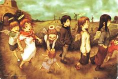 Haibane Renmei Review: To Err and to Forgive (91%)   Anime Diet