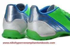 Cheap Adidas F10 TRX TF Green Blue Silver