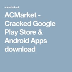 8 Best ACMarket images in 2017 | Android apps, Android apk, A well