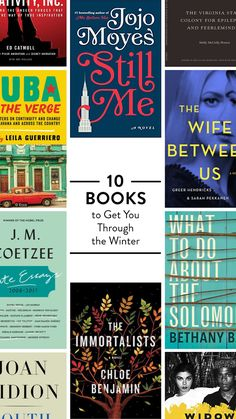 The 12 books to read right now.