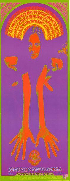 Classic Poster - Jim Kweskin Jug Band at Avalon Ballroom 12/28-30/67 by Bob Schnepf & Thomas Weir