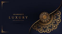Luxury Mandala Background With Golden Arabesque Pattern Arabic Islamic East Style Luxury mandala background with golden arabesque pattern arabic islamic east style<br> Discover thousands of Premium vectors available in AI and EPS formats Mandala Pattern, Mandala Design, Mandala Art, Pattern Flower, Arabic Pattern, Triangle Background, Luxury Background, Pattern Background, Vector Background