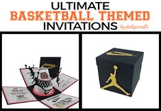 Are you planning a Basketball Themed Party? I have to tell you, there are lots of requests for Basketball Themed Pop up Invitations. I shared my friends version of the Basketball ThemedPop Up Baby Shower and have had a great response from my followers. So, one day I spent time looking on Pinterest for Basketball …