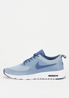 NIKE Laufschuh Air Max Thea TXT blue grey/ocean fog/white | SNIPES Onlineshop
