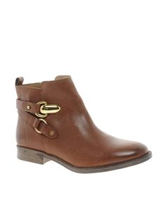 Image 1 ofRiver Island Goldie Side Fasten Boots